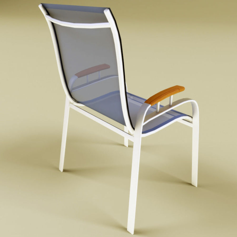 Garden furniture collection royalty-free 3d model - Preview no. 7