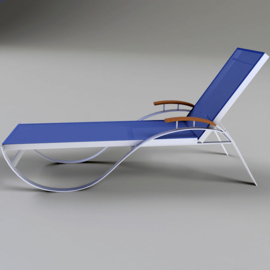 Garden furniture collection royalty-free 3d model - Preview no. 4