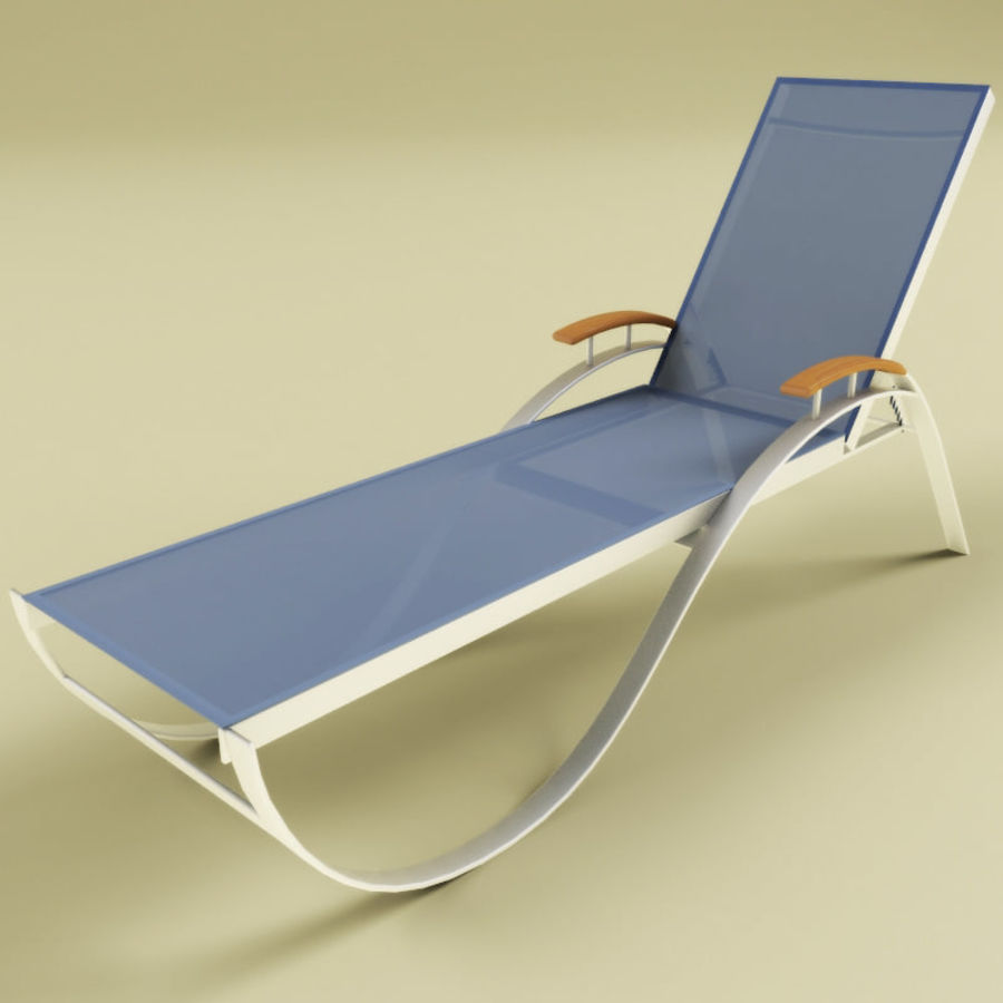 Garden furniture collection royalty-free 3d model - Preview no. 3