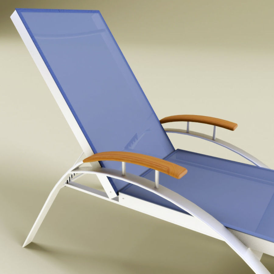 Garden furniture collection royalty-free 3d model - Preview no. 5