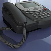Telephone AVAYA 2420 3d model
