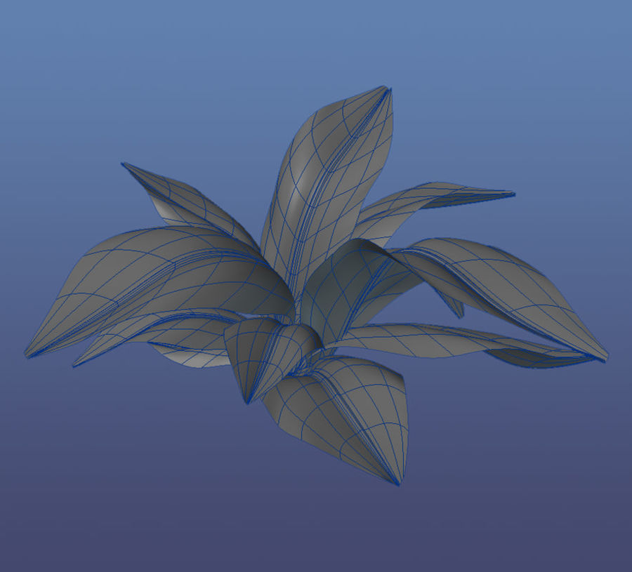 Planta da casa royalty-free 3d model - Preview no. 2