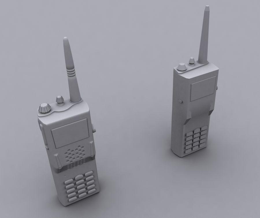 walkie talkie royalty-free 3d model - Preview no. 1