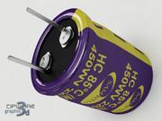 Condensador electrolítico v.2 modelo 3d