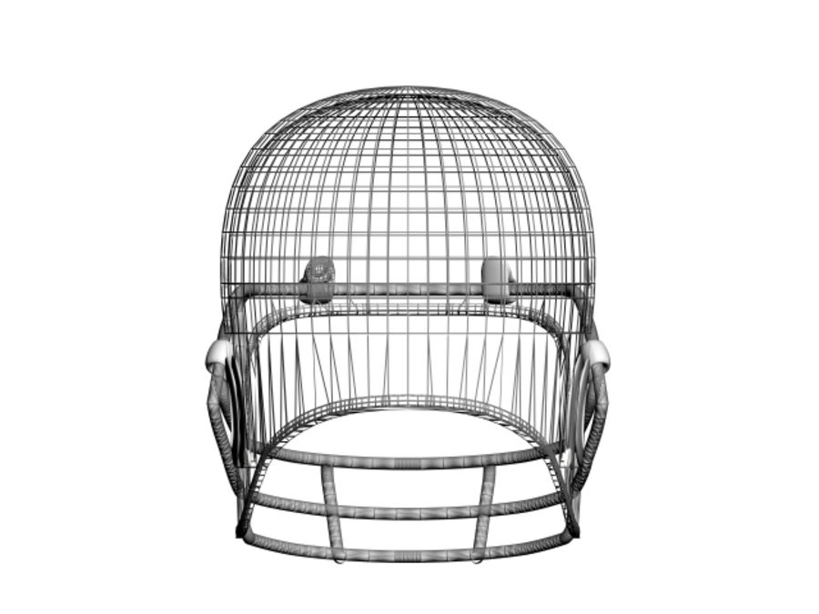 CASQUE DE FOOTBALL AMÉRICAIN royalty-free 3d model - Preview no. 7