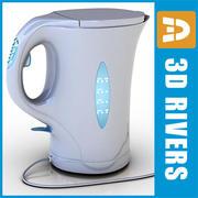 3DRiversによる電気ティーポット 3d model