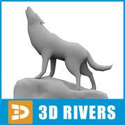 Wolf par 3DRivers 3d model