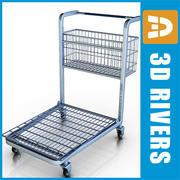 Light cart by 3DRivers 3d model