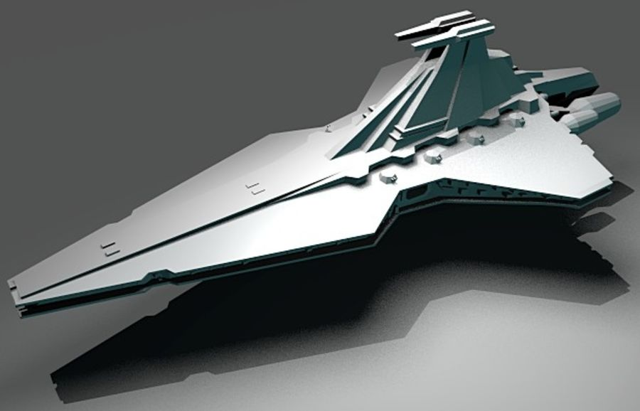 Venator royalty-free 3d model - Preview no. 6