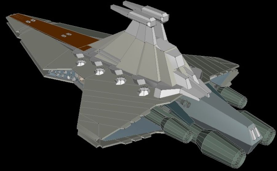 Venator royalty-free 3d model - Preview no. 4