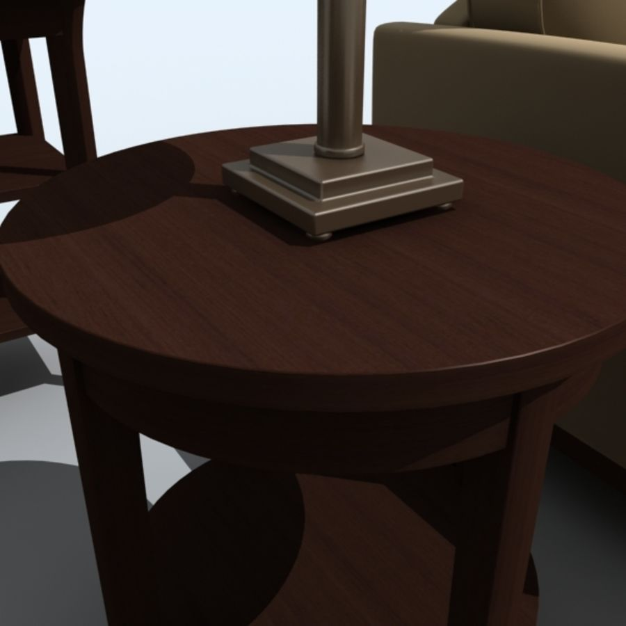 living_room_set_a royalty-free 3d model - Preview no. 5