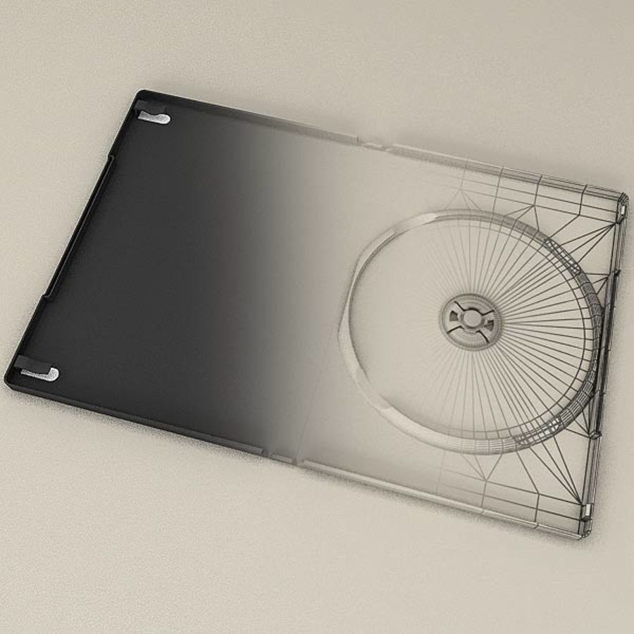 DVD Case royalty-free 3d model - Preview no. 5