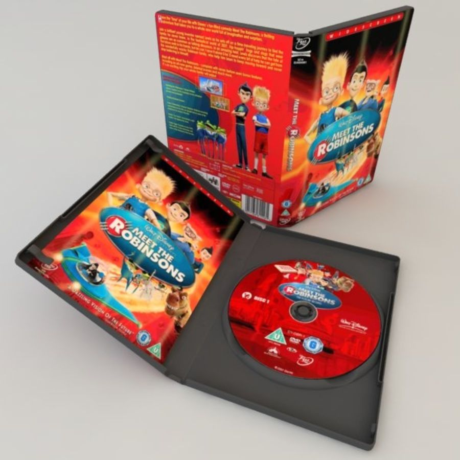 DVD Case royalty-free 3d model - Preview no. 17