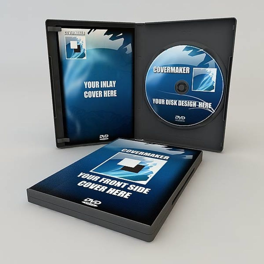 DVD Case royalty-free 3d model - Preview no. 11