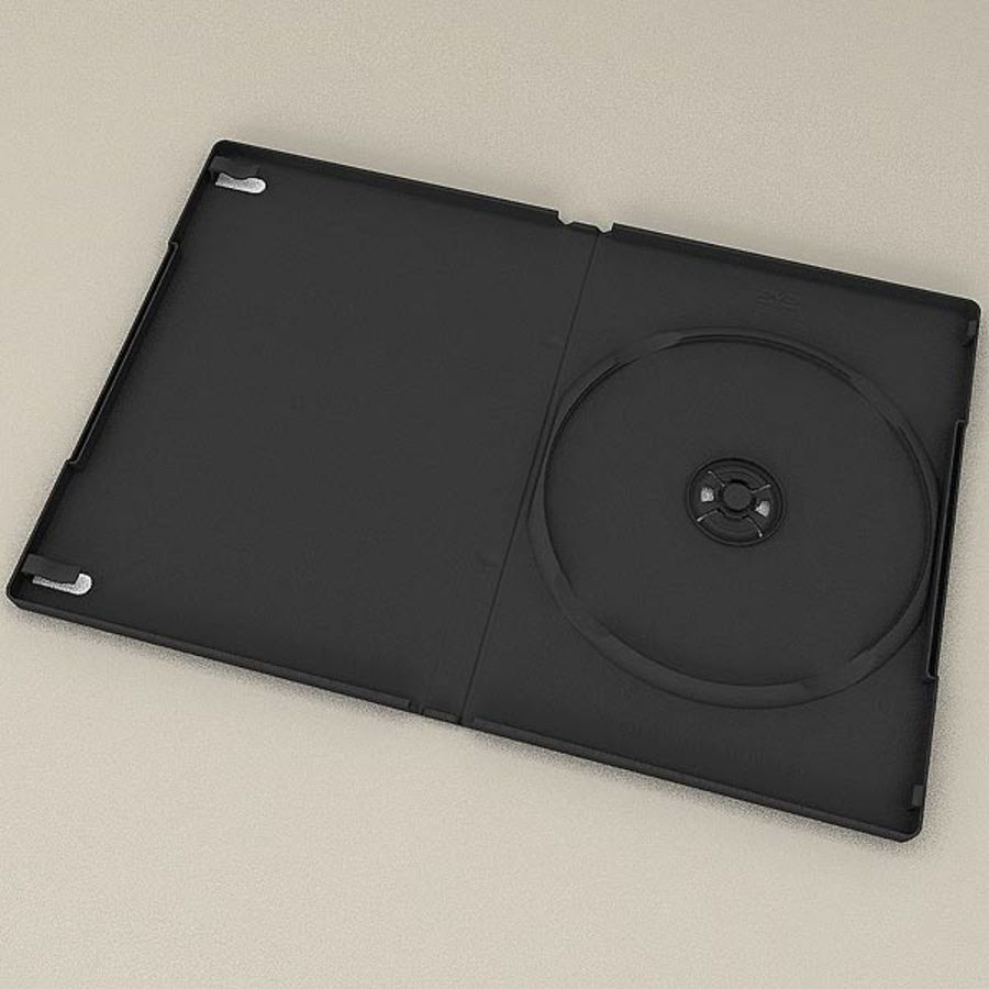 DVD Case royalty-free 3d model - Preview no. 6