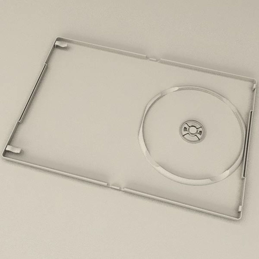 DVD Case royalty-free 3d model - Preview no. 7