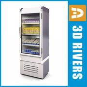 Freezer 04 milk by 3DRivers 3d model