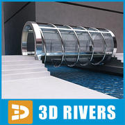 Glass bridge by 3DRivers 3d model