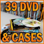 39 DVD  DISKS & CASES 3d model