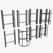Ladder Set 3d model