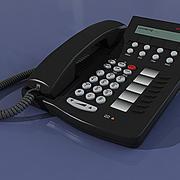 PHONE AVAYA 6408D 3d model