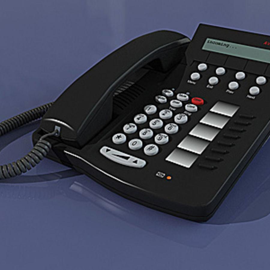 PHONE AVAYA 6408D royalty-free 3d model - Preview no. 1