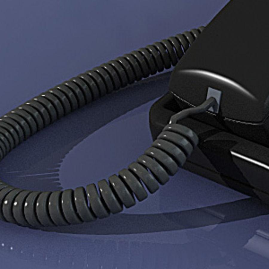 PHONE AVAYA 6408D royalty-free 3d model - Preview no. 4