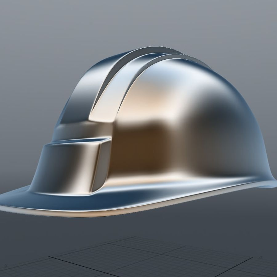 Security Helmet royalty-free 3d model - Preview no. 5