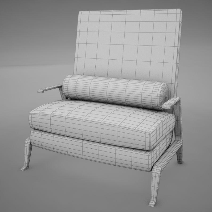 Stuhl moderner tropischer Klassiker royalty-free 3d model - Preview no. 13