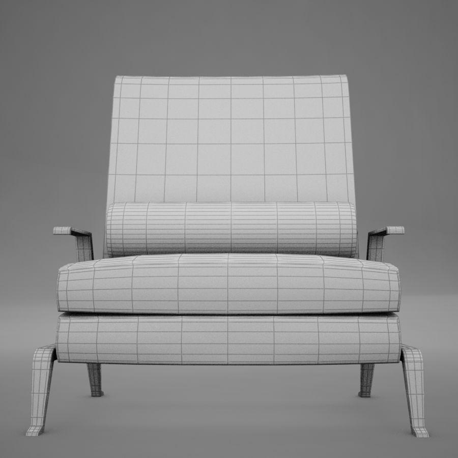Stuhl moderner tropischer Klassiker royalty-free 3d model - Preview no. 15