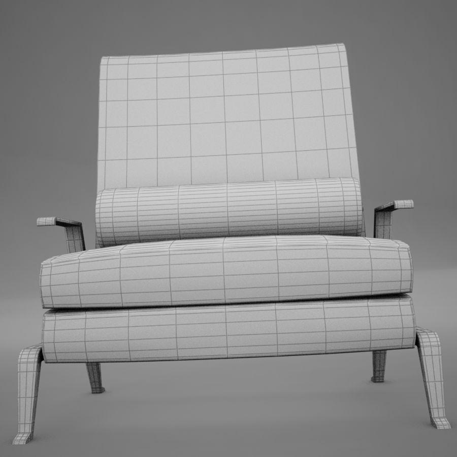 Stuhl moderner tropischer Klassiker royalty-free 3d model - Preview no. 14