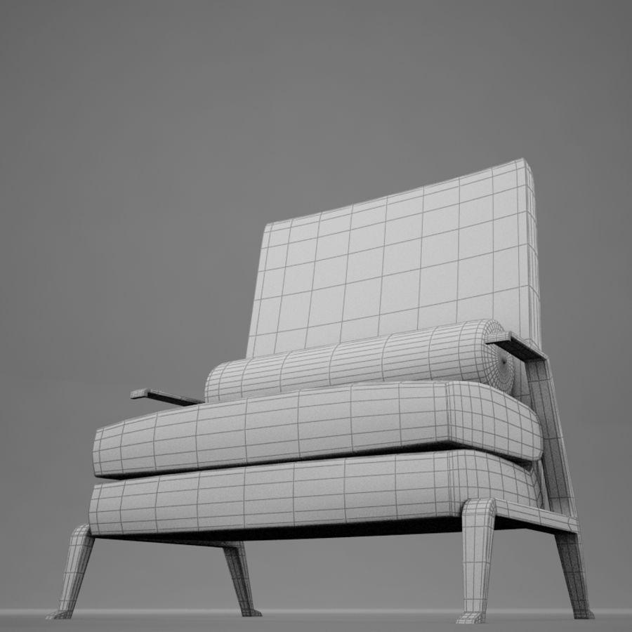 Stuhl moderner tropischer Klassiker royalty-free 3d model - Preview no. 17