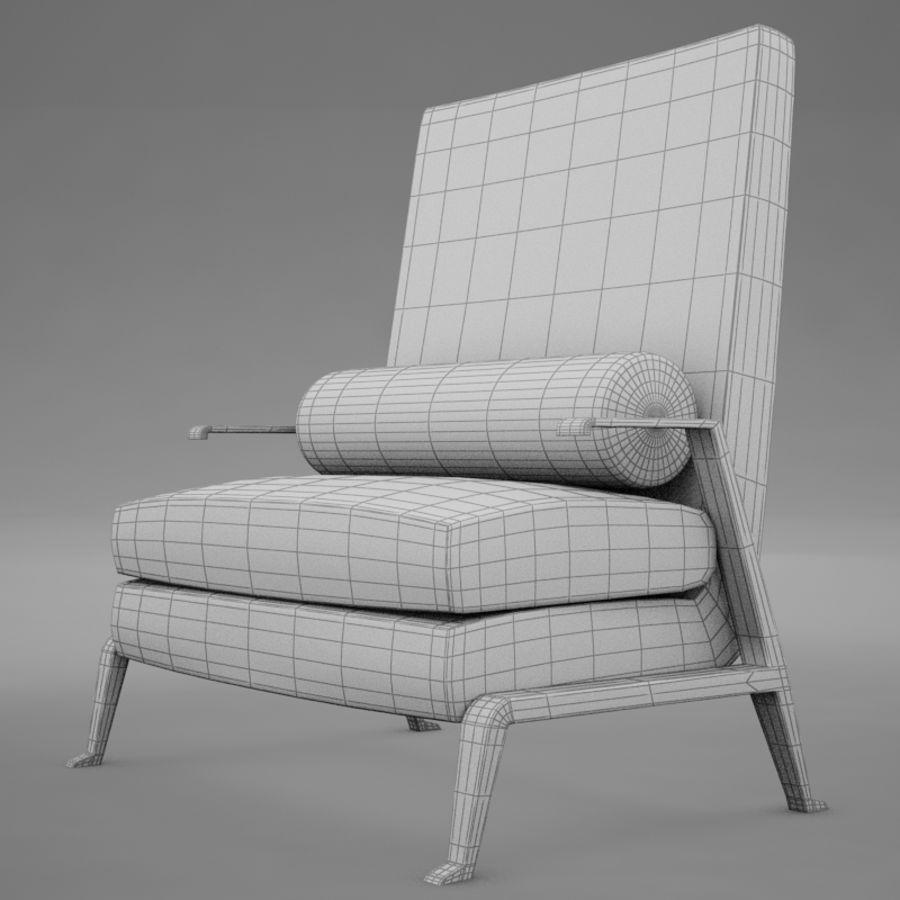 Stuhl moderner tropischer Klassiker royalty-free 3d model - Preview no. 11