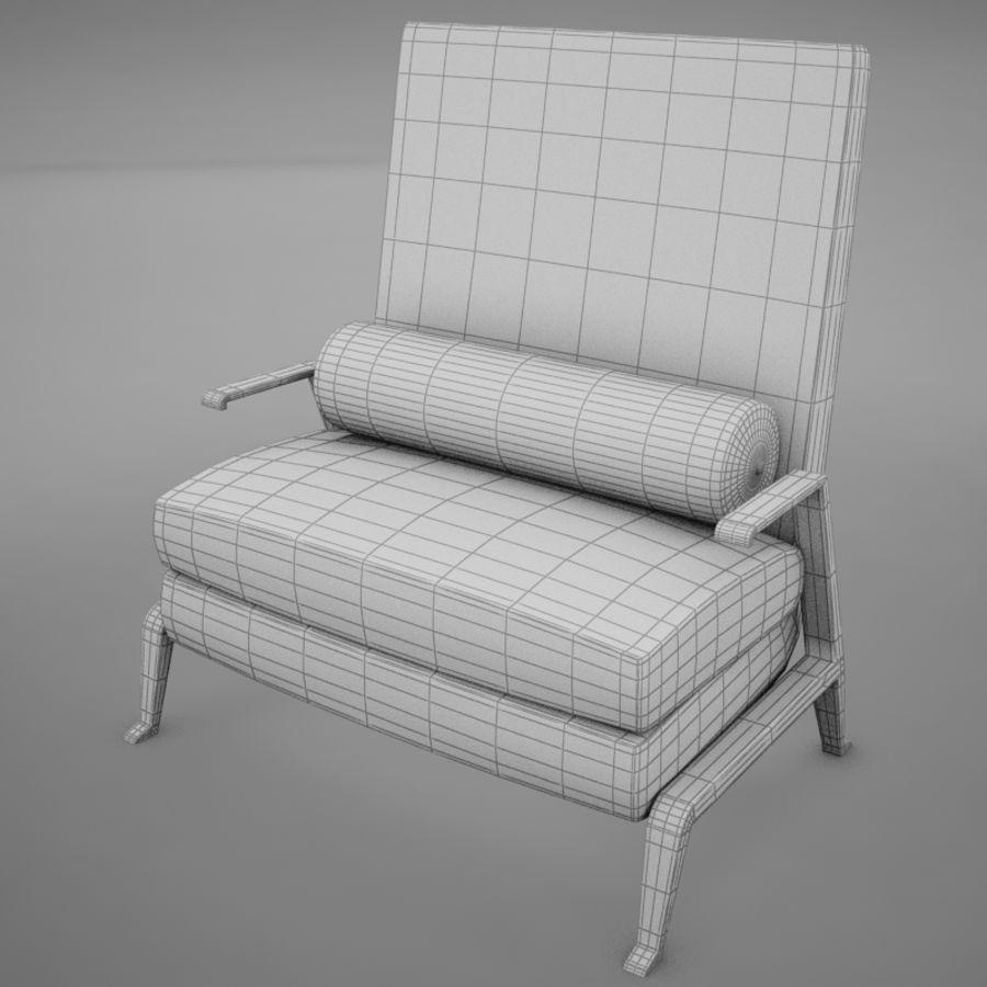 Stuhl moderner tropischer Klassiker royalty-free 3d model - Preview no. 12