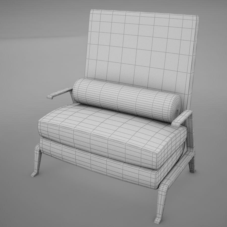 Stuhl moderner tropischer Klassiker royalty-free 3d model - Preview no. 16
