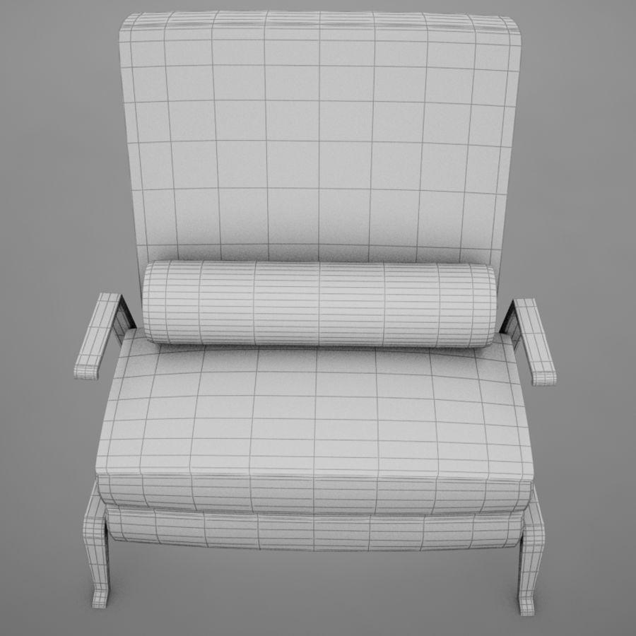 Stuhl moderner tropischer Klassiker royalty-free 3d model - Preview no. 18