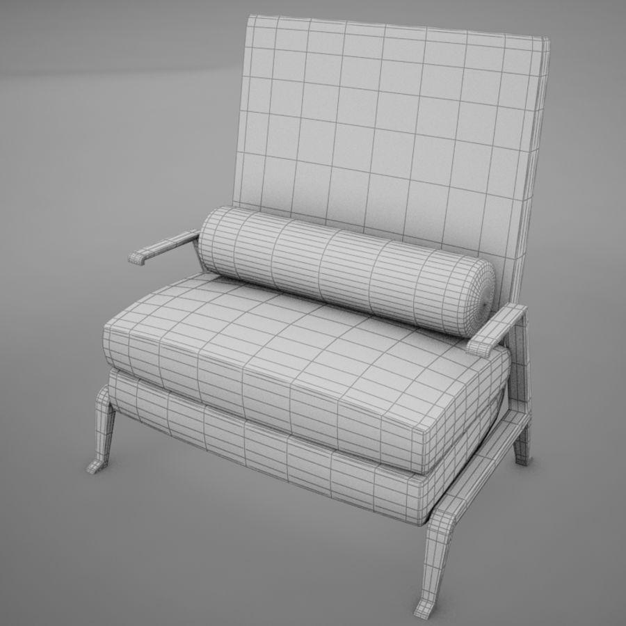 Stuhl moderner tropischer Klassiker royalty-free 3d model - Preview no. 10
