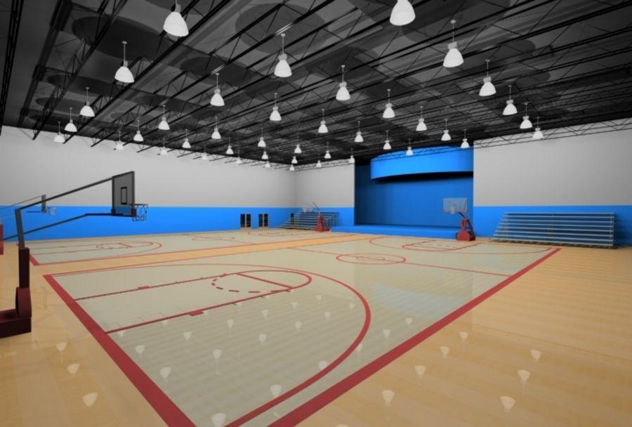 Тренажерный зал royalty-free 3d model - Preview no. 1