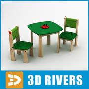 Toy te bord av 3DRivers 3d model
