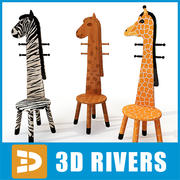 Childrens racks by 3DRivers 3d model
