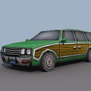 ステーションワゴン 3d model