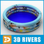 Inflatable pool by 3DRivers 3d model