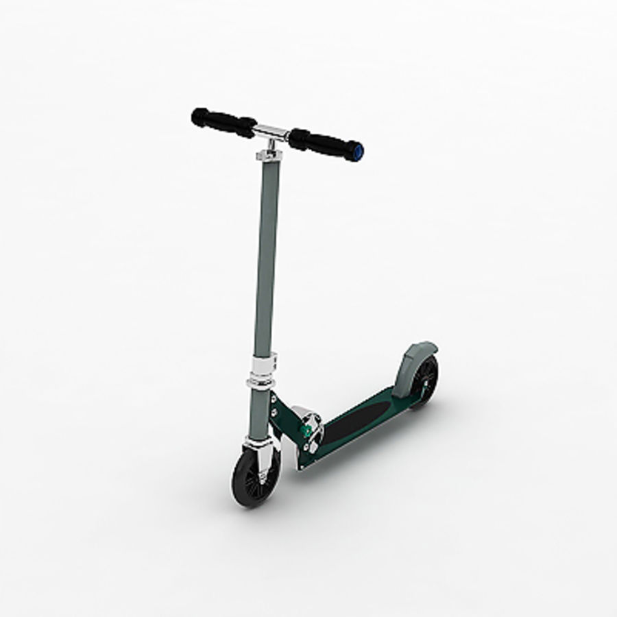 Scooter  by 3DRivers royalty-free 3d model - Preview no. 3