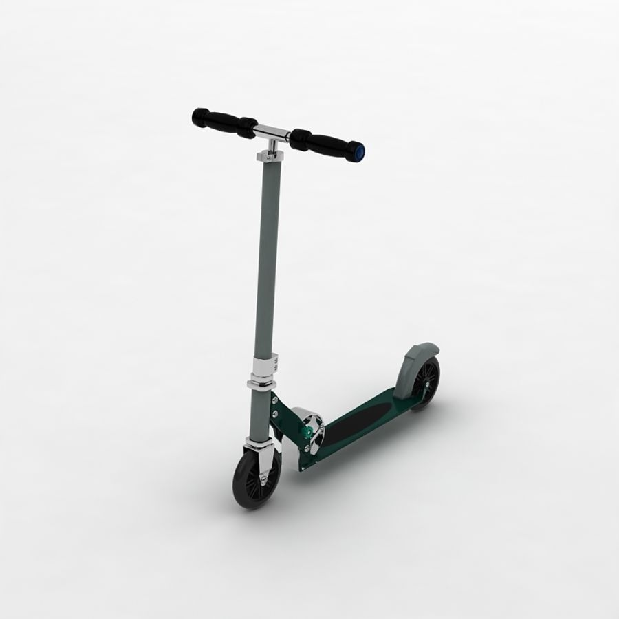 Scooter  by 3DRivers royalty-free 3d model - Preview no. 2