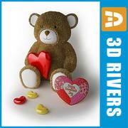 Bär med hjärta av 3DRivers 3d model