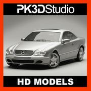 Mercedes CL500 modelo 3d