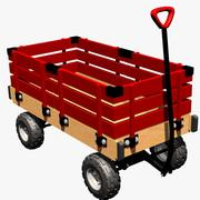 Tuffy The Wagon 3d model