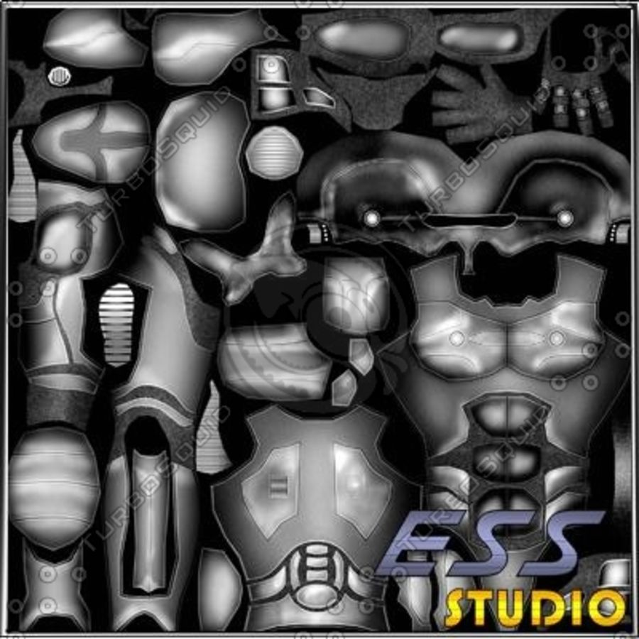 Android royalty-free 3d model - Preview no. 16