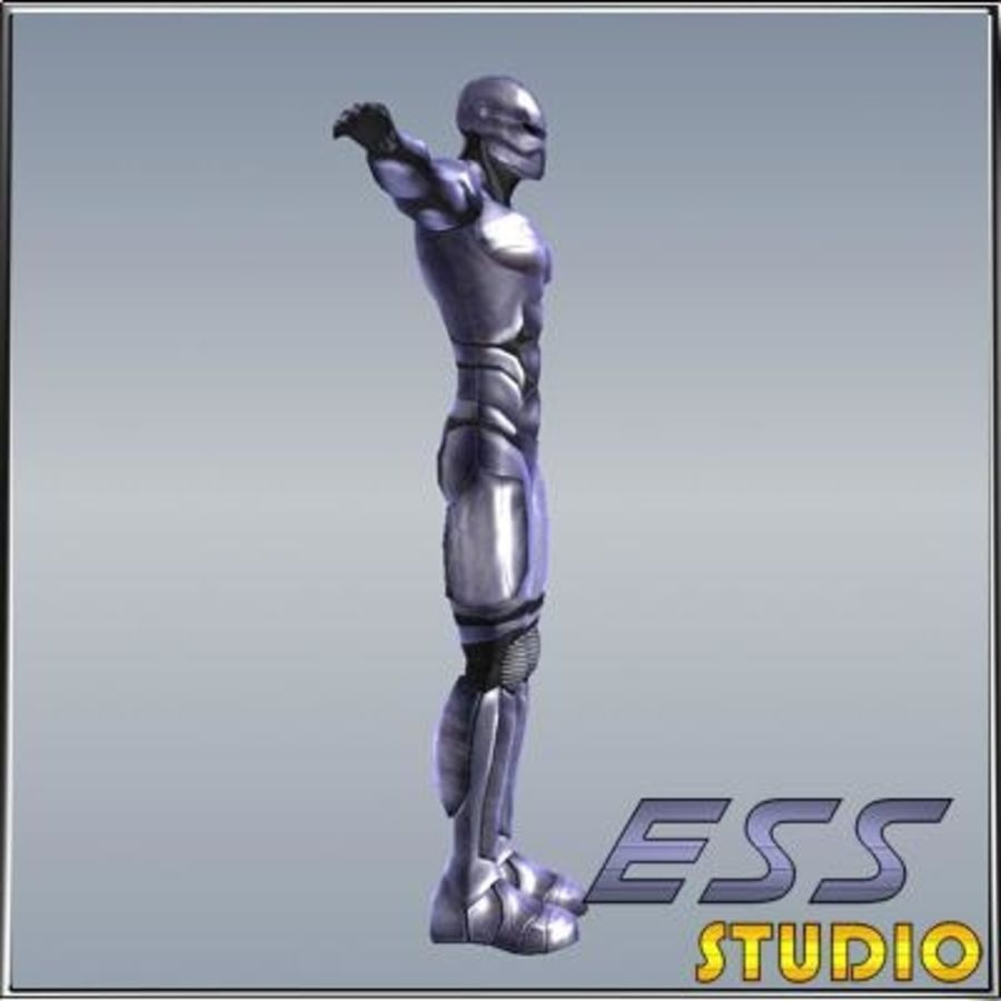 Android royalty-free 3d model - Preview no. 3