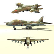 Airplane CA-23 Cheetah (CAS Fighter) 3d model